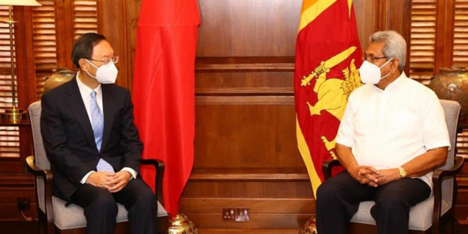 Srilanka verinnaa China ge is diplomate ge bahdhaluvun