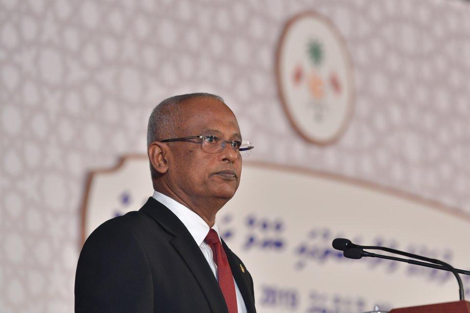 Raees Yameen ge verikamugai resort hadhan dhookuri 85 rasheh nuhedhi eba oiy: Raees Solih