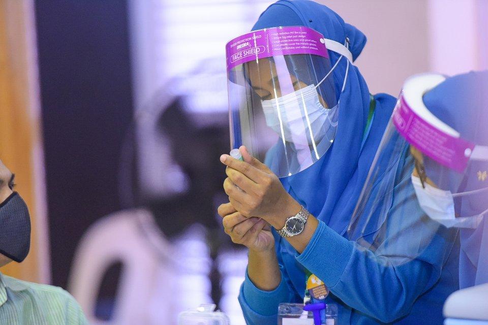 Male' gai covishield vaccine jehun vaguthee gothun huhtaalaifi