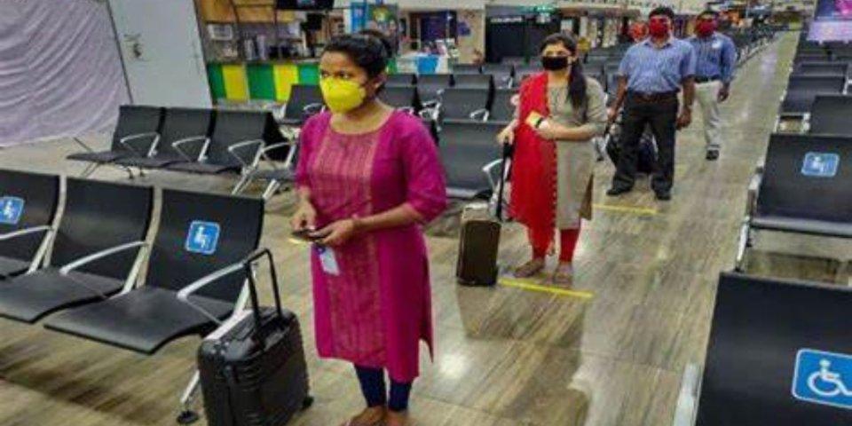 India Airport thakuga Covid19 fiyavalhuthah varugadha kuranee