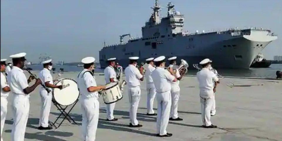 Indo French military exercise thakeh Bey of Bangal gai