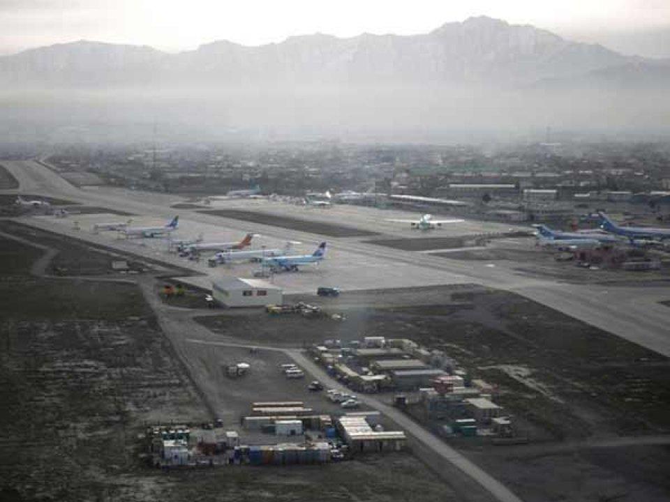 Kabul airport beynun kamah thurukey bunefi