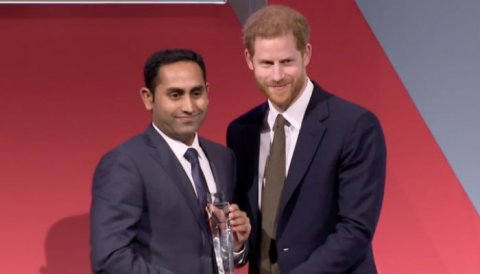 Common Wealth Youth Award ah Kurimathilumuge Furusathu Hulhuvaalaifi