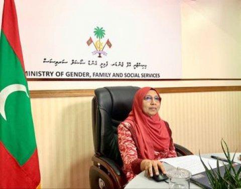 Covid 19 in Araigathumah Kuraa masahkathugai Iskoh Thiby Anhenun: Gender Minister