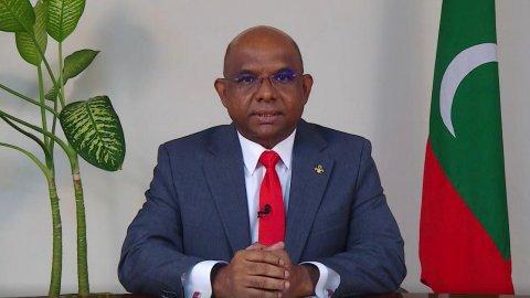 Raajje akee Ehves Irehgai Hathiyaaru Ufahdhaane Gaumeh Noon: Foriegn Minister