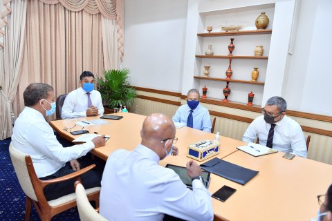 Vice President Holds Discussions on Expansion of Healthcare Services in Kulhudhuffushi Regional Hospital