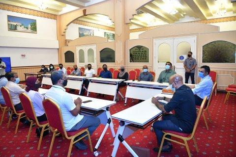 Vice President meets Local Media Officials at HEOC