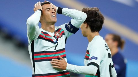 Ronaldo corona virahah positive vejje