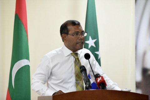 Health minister kamugai Naseem thafaathu dhakkavaane: Nasheedhu