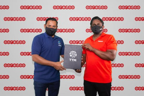 TTM Maldives virtual ge main sponsor akah Ooredoo Maldives