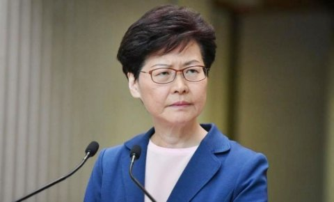 Hong Kong leader Carrie Lam ge bank account eh nei, musaara nangavanee nagudhun