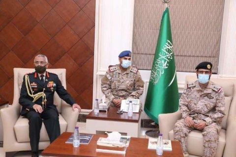 India aa Saudi Arabiya ge askaree mashvaraathah