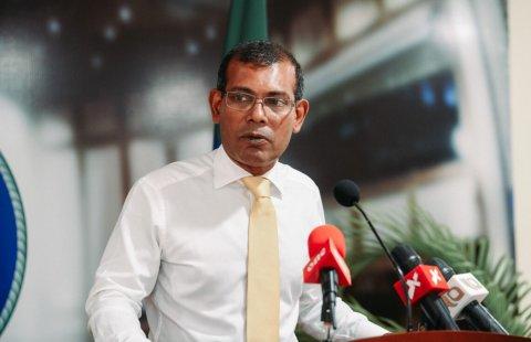 Aa gaanoonaa eku fuluhunge muassasaa ah othee ummeedhee kuri mageh: Raees Nasheed