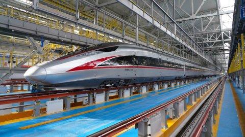 China ge au bullet train