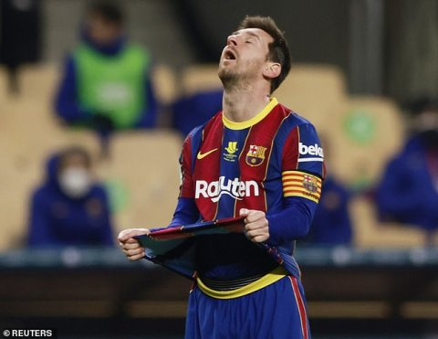 Messi 12  match ah Suspend kurany!