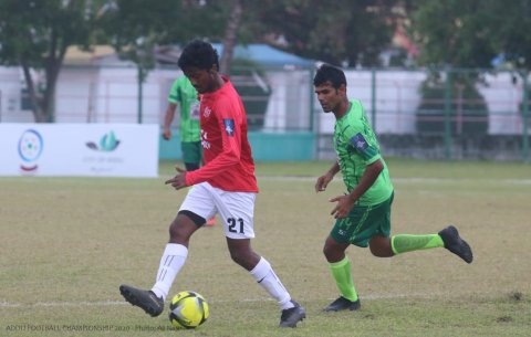 AFC 2020: Group B in semi final ah dhiya furatham team akah feydhoo sports