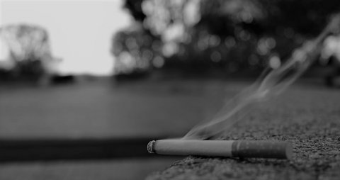 Cigarette filter in salaamaiy kohdhee