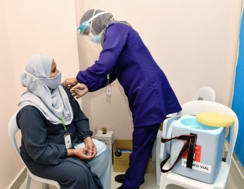 Covid vaccine furathama dose jahaa meehunge adhadhu madhu vejje
