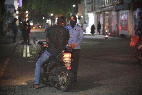 Curfew aa hilaafuvi 160 meehaku joorimana kohfi