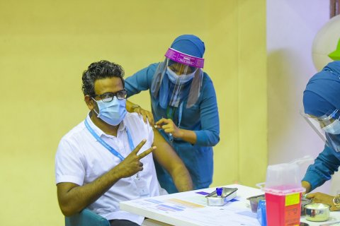 China ge sinopharm vaccine jahan maadhamaa fashanee