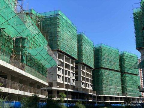 Hulhumale gai 2000 housing unit alhan loan eh dheyn india in ebbas vejje