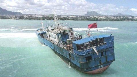 Mauritius ge farakah anekkaa ves theyo boat eh urijje