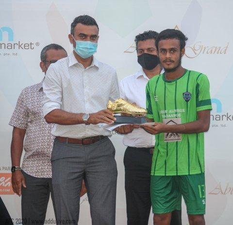 Addu Foot ball championship ge thashi Feydhoo ufulaalaifi