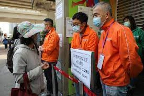 Hong Kong aai Macau in Pfizer-BioNTech covid vaccine jehun vaguthee gothun huttaalaifi