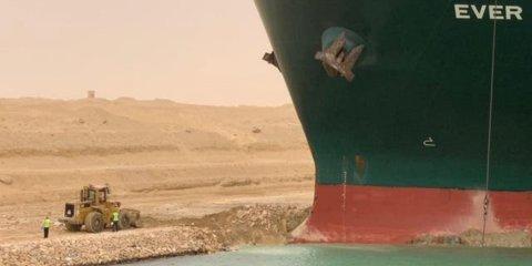 Suez Canal bandhu vejje