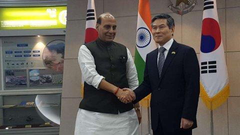 India South Korea Military mashvaraathah