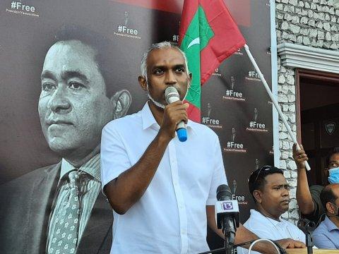 Dr. Muizzah vote nulavvan Raees Yameen nuninmavaa: PPM