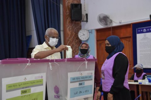 Raees Solih vote lavvaifi