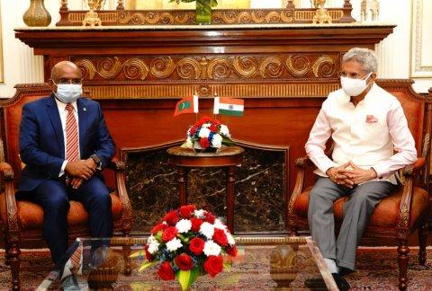 Shahid Indiage external ministeraa badhdhalu kuravvaifi