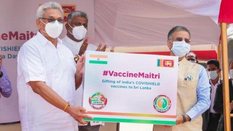 Lanka: India vaccine unmeedhu ga