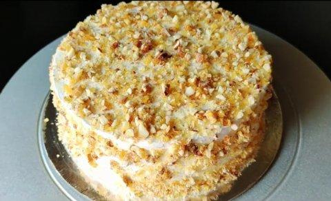 Roadha sufuraa: Butterscotch cake