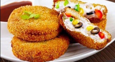 Roadha sufuraa: Chicken cheese wheels