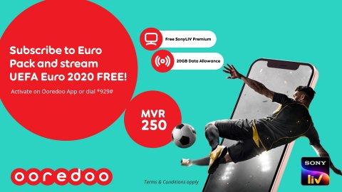 Ooredoo: Euro 2020 package tha'aaraf koffi