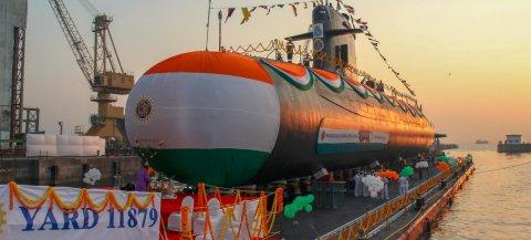 Indian Ocean ge submarine ge bodu baarakah vumah India
