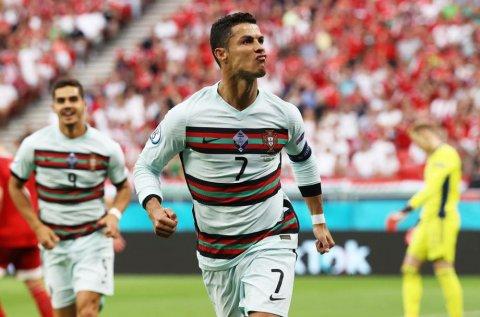 Ronaldo ge jaadhoo gai Portugal in Hungary himeyn kollaifi