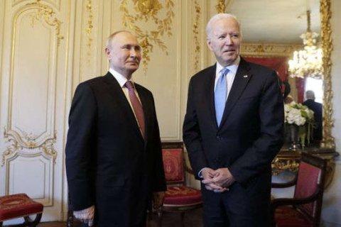 Putin Biden ge summitun bodu unmeedheh nei