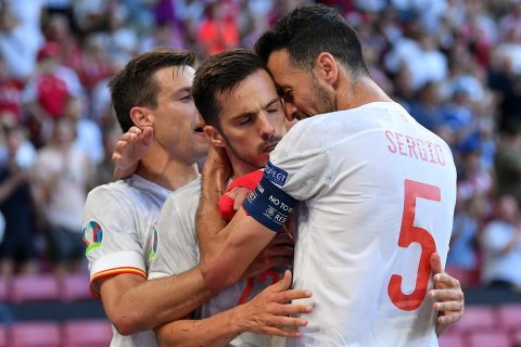Euro Football Mubaaraathuge Semi Final ah Spain Hin'gajje