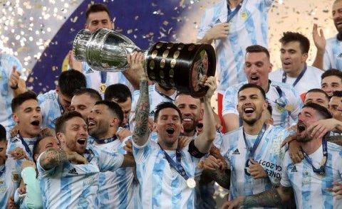 Messi ge inthizaarah foni nimumeh, Championkan Argentina ah