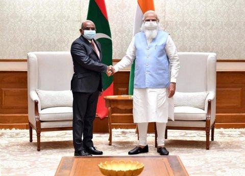 Foreign Minister Shahid, Narendra Modi ah Shukuru adhaa kuravvaifi