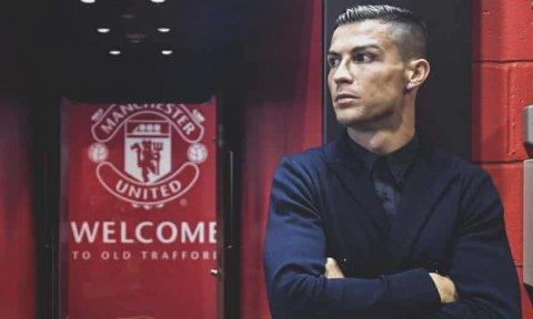 Ronaldo e'nburi Manchester unitedah