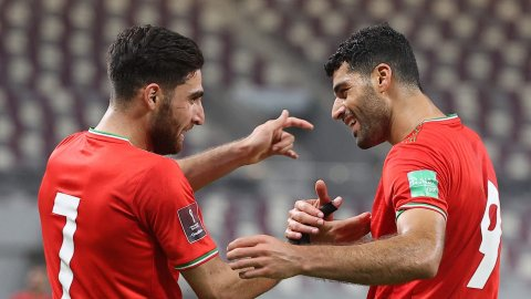 world cup qualifying: Iran 3-0 Iraq , Saudi 1-0 Oman