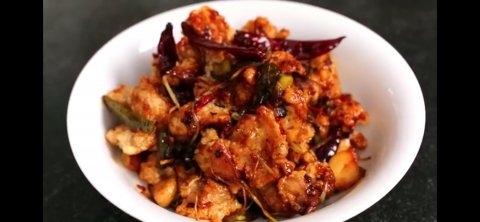 Spicy garlic fried chiken (Chinese style)