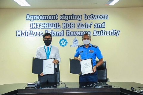 MIRa aai interpol NCB for Maldives aa eku ebbas vumeeggai soikoffi