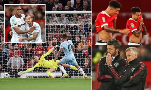 Carabao Cup: Manchester united kataifi
