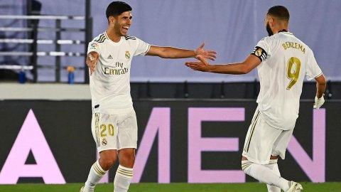 Real madrid 6-1 Mallorca, Thafaathakah vee Benzema aai Asensio